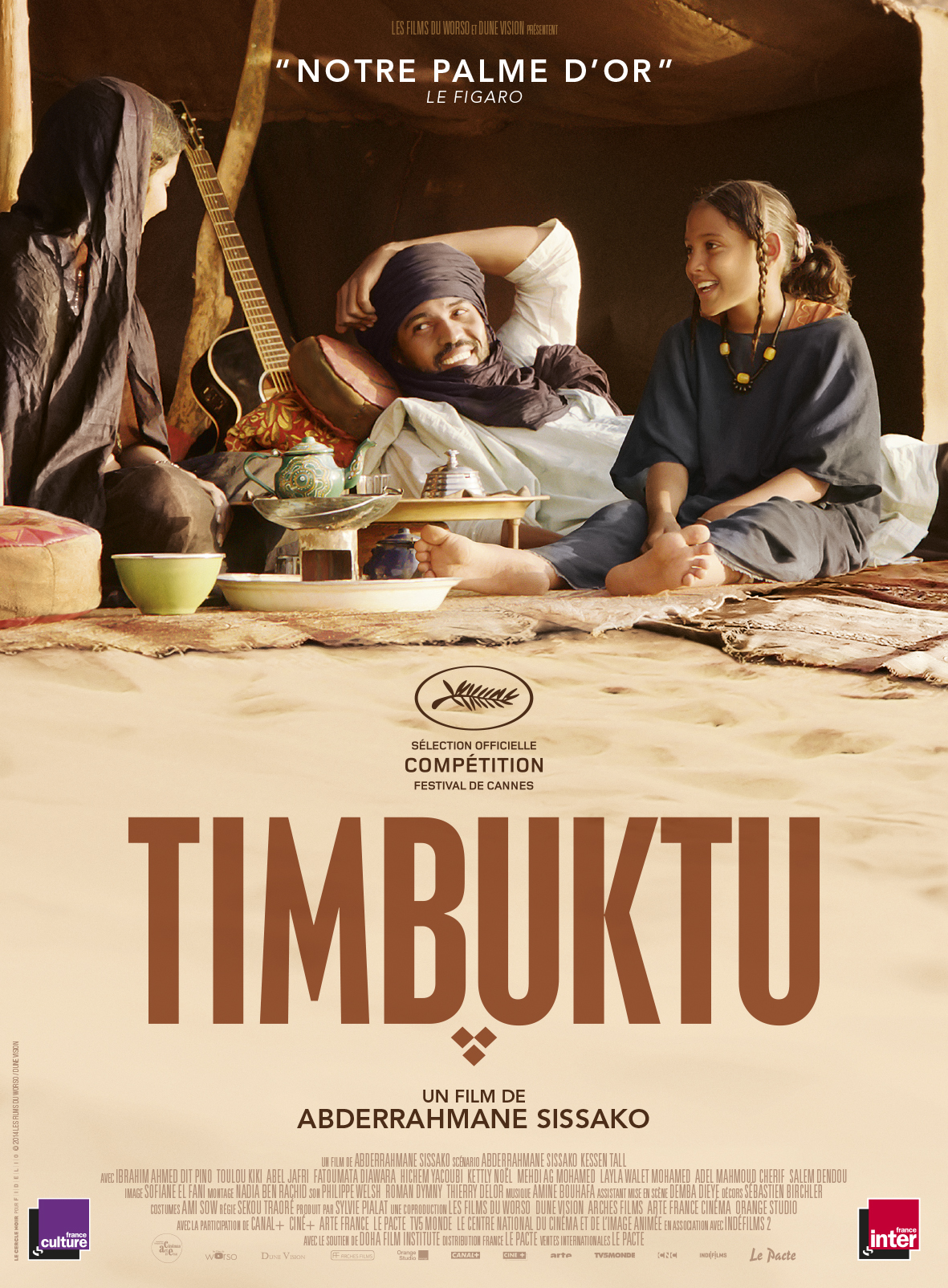 Une des plus belles scènes du cinéma sur le football se passe dans Timbuktu.