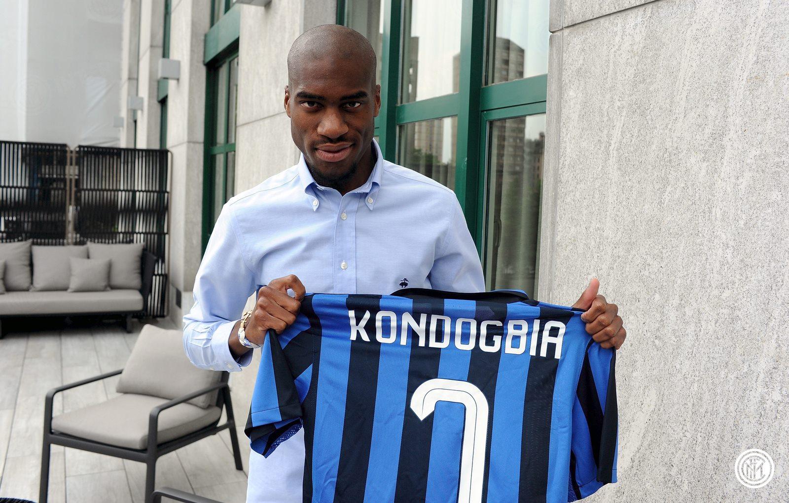 kondogbia signe à l'inter milan