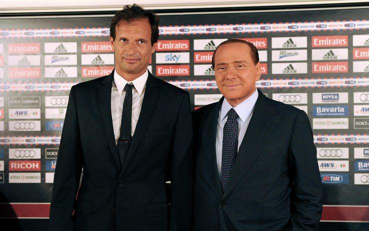 """Allegri et """"il cavaliere"""" Berlusconi"""